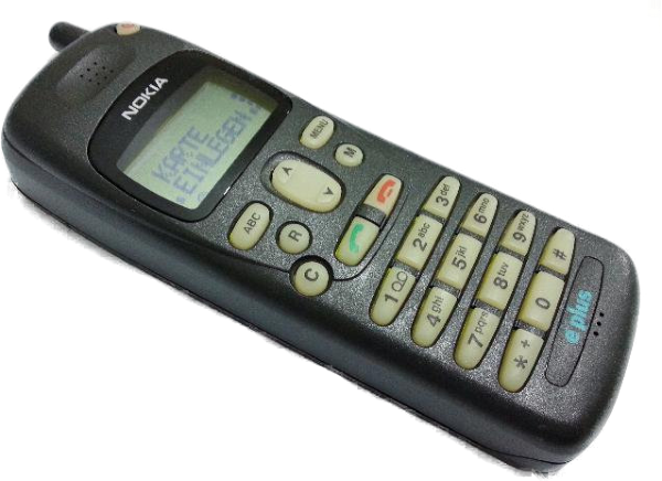 A Nokia 1620 mobile phone
