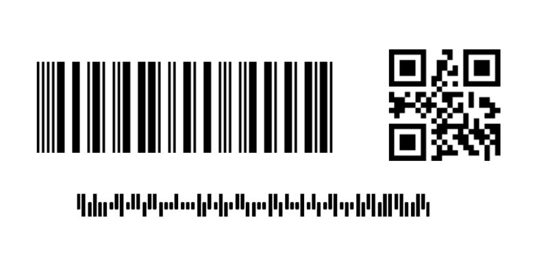 3 types of barcode