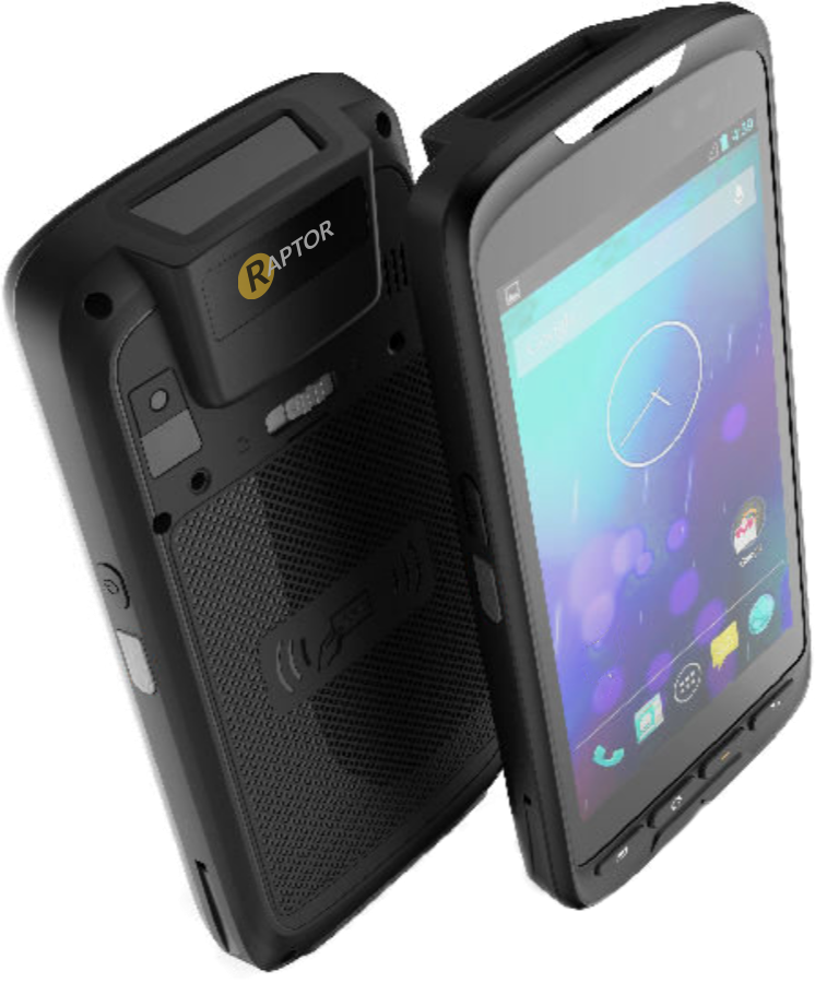 Raptor EC5 rugged android barcode scanner