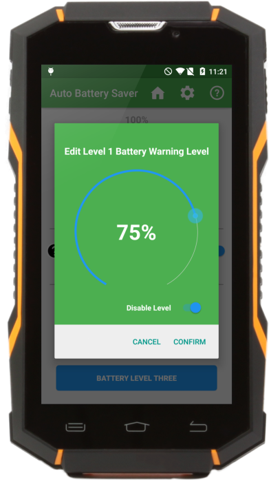 Raptor R5 battery management app