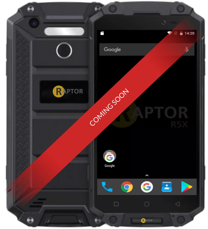 Raptor R5X Rugged smartphone