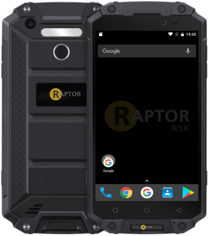 Raptor R5X rugged device