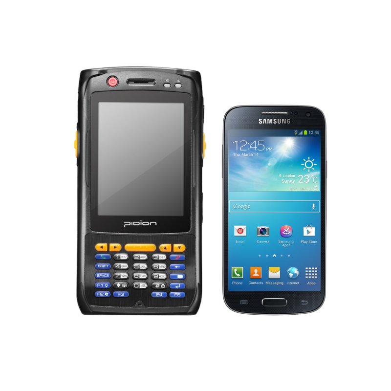 Rugged PDA with 3G