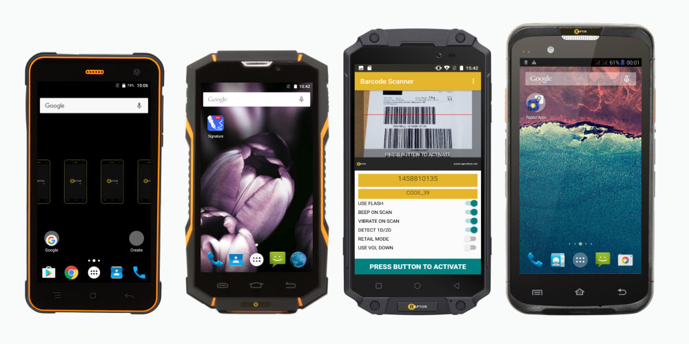 Rugged Mobile Devices - Tough Mobile Phones - Raptor